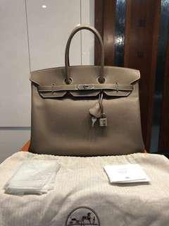 Hermes Birkin Epsom 35 Authentic