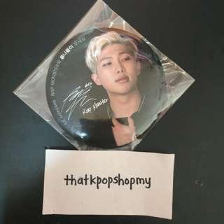 BTS OFFICIAL BADGE BY SK TELECOM EVENT RM
