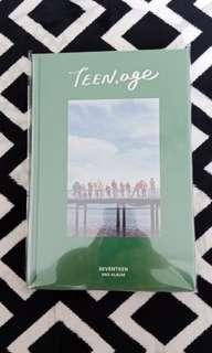 SEVENTEEN 2nd album TEEN.AGE ALBUM (green ver.)