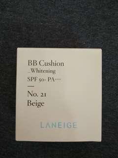(包郵)Laneige BB Cushion Whitening 5g