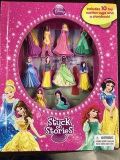 Disney Princess Stuck on Stories Book