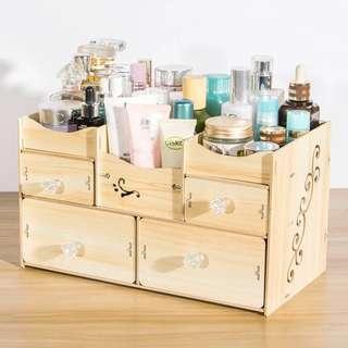 木製化妝品收納櫃 Cabinet
