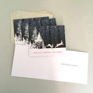 🎉 M&S Christmas Card x4