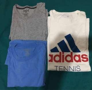 Reebok and Adidas T-Shirt (size XL)