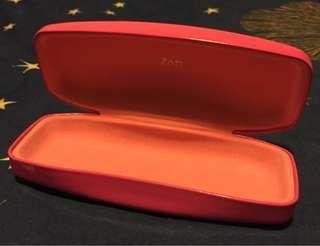 全新 Zoff 粉紅色眼鏡盒