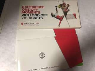 Manchester United VIP empty package