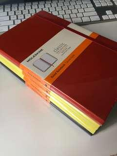 [Ready Stock] Moleskine Large Classic Notebook (Ruled/Hard Cover)