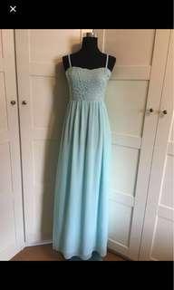 Light Blue Dress/ dress/ maxi dress/ gown/ turquoise dress/ Tiffany blue dress/ prom dress/ bridesmaid dress/ tube gown/ lace maxi dress/ crochet dress/ photoshoots/ tube dress/ dress/ Long dress/ maxi dress/ gown