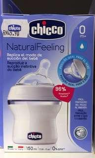 Chicco Natural Feeling Feeding Bottle 150ml (0M+)