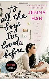 EBOOK To all the boys ive loved before by Jenny Han