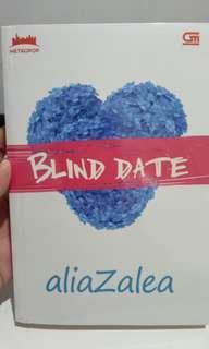 Novel Metropop Blind Date by Alia Zalea