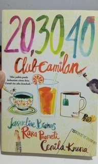 Novel Metropop Dewasa 20, 30, 40 by Club Camila