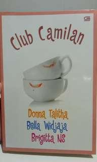 Novel Metropop Dewasa Club Cemilan
