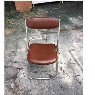 東鼎二手家具 咖啡皮革折合休閒椅*摺疊*餐椅*洽談椅*麻將椅*辦公椅*接待椅*電腦椅*化妝椅*房間椅*沙發椅*咖啡椅*