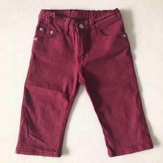 🚚 Maroon Dark Red Jeans for boys and girls