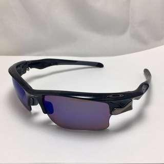 Oakley Fast Jacket XL Sunglasses, Frame/Black Plaid , Lens( G30/VR50 ) , in mint condition