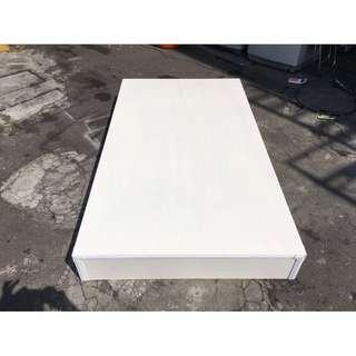 東鼎二手家具 全新品 純白3.5尺單人床底*床箱*床板*床架*床組*單人床底*寢具