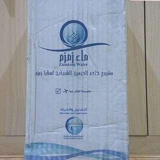 Air zam zam asli 5 liter