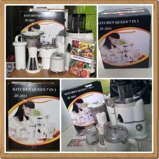 Power Juicer Blender Kitchen Queen 7 in 1 Harga Murah
