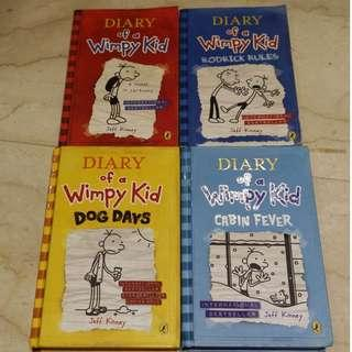 Four Diary of the wimpy kid