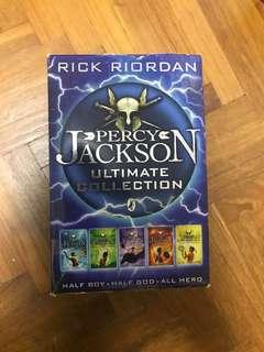 Percy Jackson and the Olympians FULL SET Lightning Theif, Sea of monsters, Battle of the Labyrinth, Titan's Curse, Last Olympian Rick Riordan