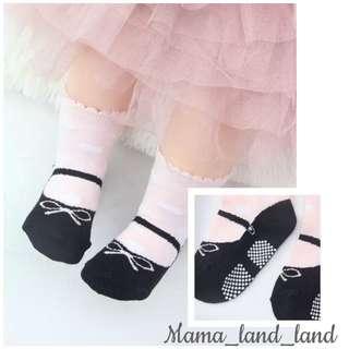 Lovely Balletic baby cotton pink print socks