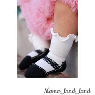 Lovely Balletic ruffle baby cotton socks
