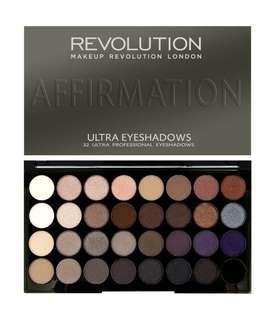 Makeup Revolution Ultra 32 Shades Eyeshadow Palette - Affirmation