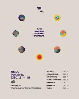 [WTS] DPR 2018 CTYL TOUR GENERAL ADMISSION TICKET