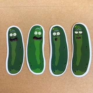 🚚 Rick and Morty Stickers D