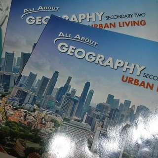 Secondary 2 Geography Textbook Workbook