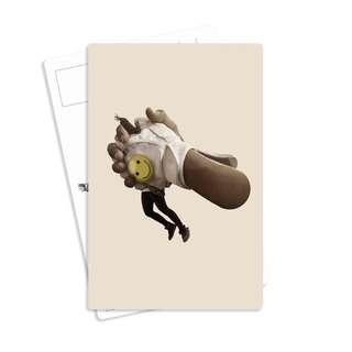 🚚 Vintage Postcard - Tipsy Fairy
