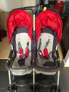 Good baby Double Stroller