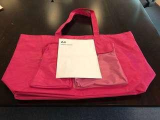 粉紅色超大實用袋 Pink Huge All Purpose Bag
