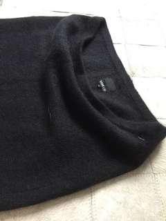 Mohair tube skirt