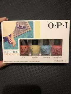 OPI Retro Summer Mini Nail Lacquers Set