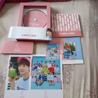 Album Wanna One - To Be One (Pink Ver)