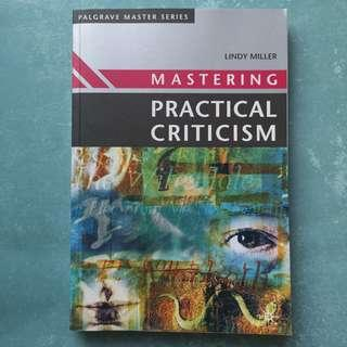 Mastering Practical Criticism