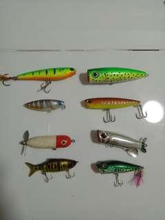 Branded Topwater Lures