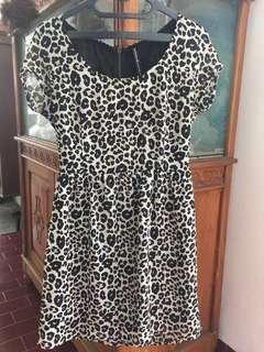 Mini dress stradivarius
