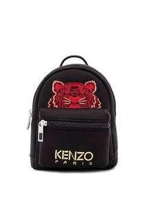 KENZO Nylon Mini Bagpack in Black