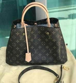 Good as New ‼️ 2017 Louis Vuitton Montaigne MM   on hand ♥️