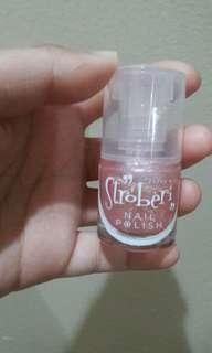 Nail polish baby pink