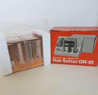 Vintage & Retro Hitachi Multiple Use Hair Dryer Hair Setter DR-10. Totally Brand New, Vintage and a Collectible Authentic Hitachi Hair Setter. More than 35 Years Old. You Simply Cannot Find This Anywhere!!!