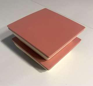 Tupperware pink 2 boxes