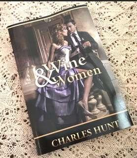 Wine & Women Book by Charles Hunt