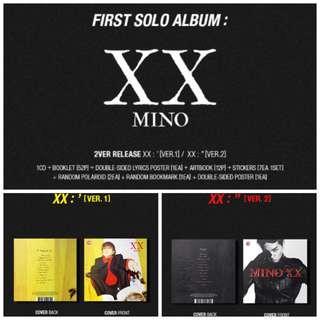 WINNER : MINO SOLO ALBUM VOL.1 [XX]