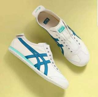 Onitsuka tiger slip on blue tosca