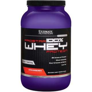 Protein Powder : Ultimate Nutrition Prostar Whey Protein (2lbs)