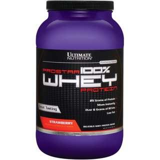 Protein Powder : Ultimate Nutrition Prostar Whey (2lbs)